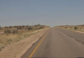 la route se dérobe...