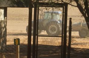le tracteur au no 9