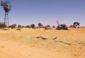 Gharagab waterhole