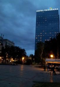 Hôtel Panorama et la placette