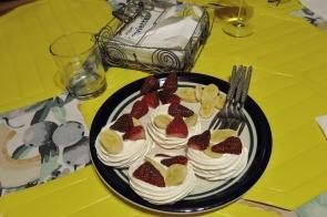le dessert... des meringues !!!
