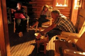 Witzenberg - le chalet - Michele, Glynis et Rob