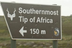 l'endroit le plus au sud de l'Afrique