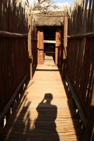 Nossob - ancien hide