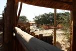 Nosob, le nouvel hide en construction