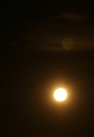camp - pleine lune