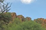 les falaises