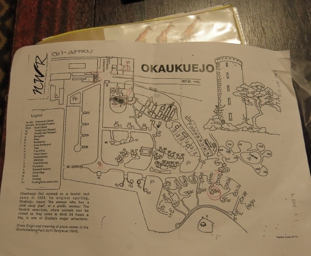 camp - plan de Okaukeujo