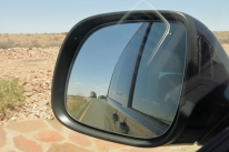 paysage - camion renversé