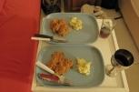 camp - salade de poulet purée