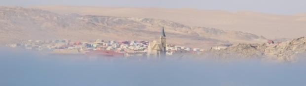Lüderitz est en vue...