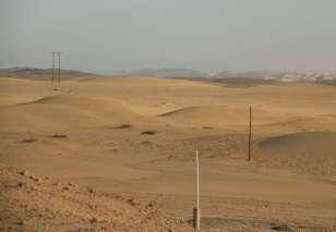 dunes du désert de Namib