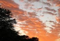 couché de soleil à Mata Mata
