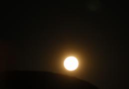 pleine lune à Sperrgebiet